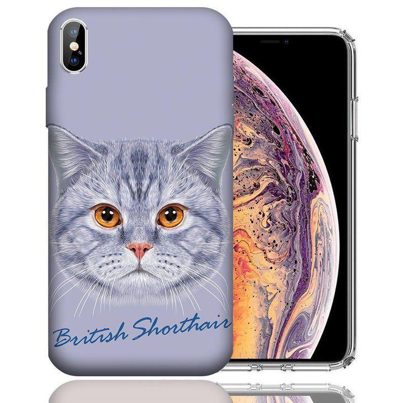 British Shorthair Cat Iphone Case Apple Iphone X Xs Xs Etsy Cats Iphone Cases Cats Iphone Apple Iphone Case