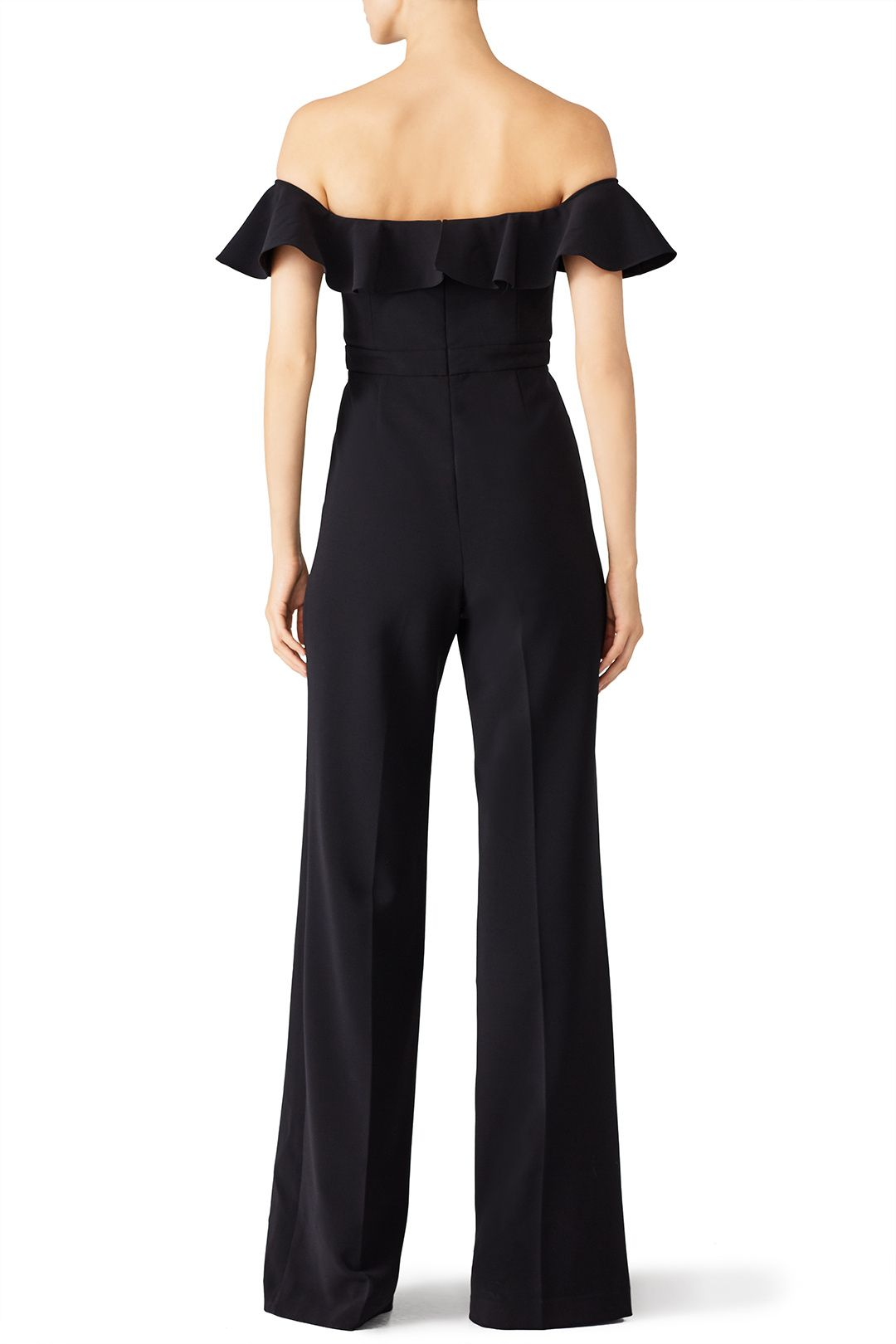 Black Biondi Jumpsuit by Jay Godfrey for $75 - $90 | Rent the Runway