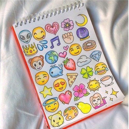 art drawings - Dessin Emoji