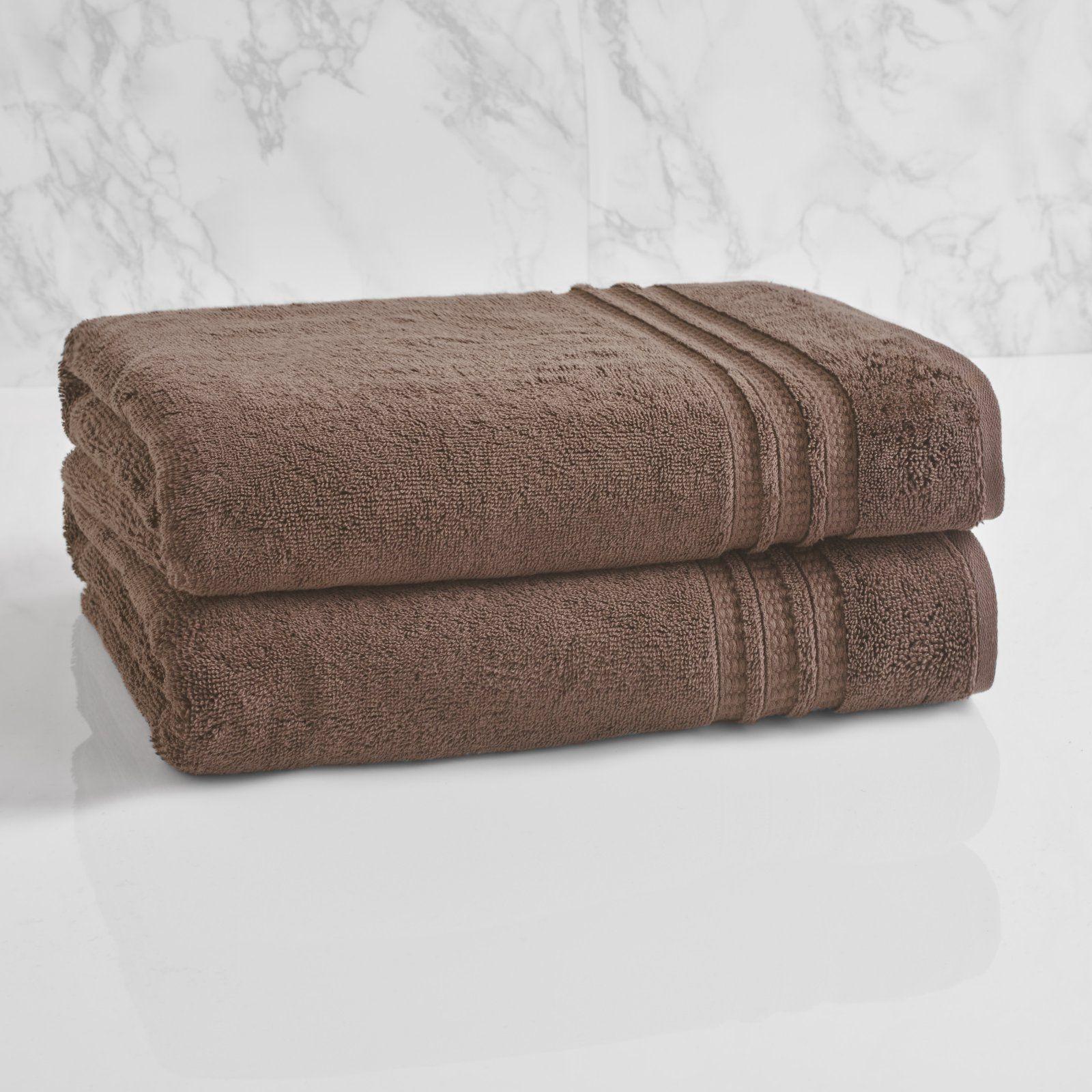 Loft By Loftex Essentials Solid Cotton Bath Towel Plum Truffle