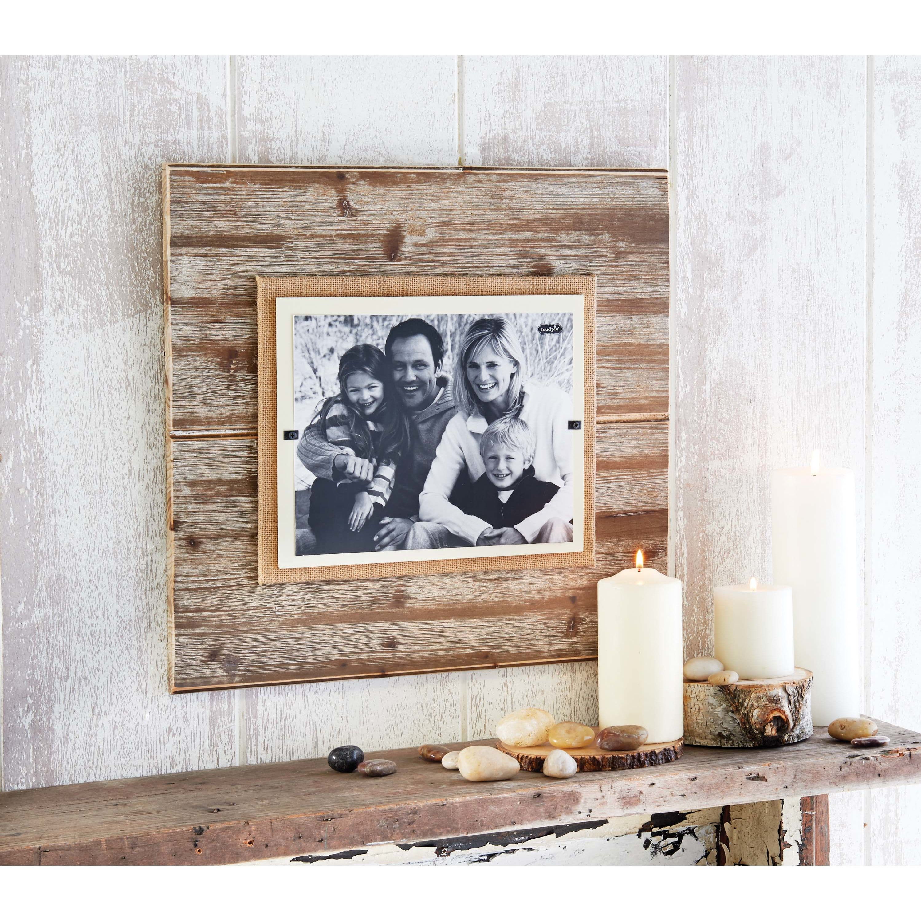 mud pie pine deluxe picture frame home decor details mud pie pine deluxe picture frame jeuxipadfo - Mud Pie Picture Frames