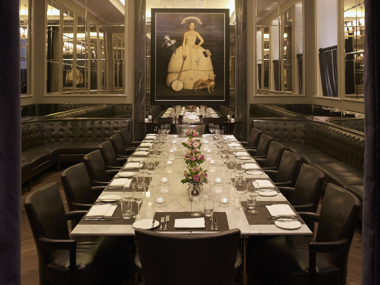 The Northall Private Dining Room Seats Up To Twenty At One Table - Hotel dining room furniture