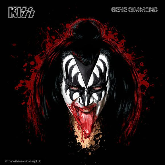 gene simmons solo album. gene simmons, co-founder of kiss has been the bass player from 1974 - simmons solo album