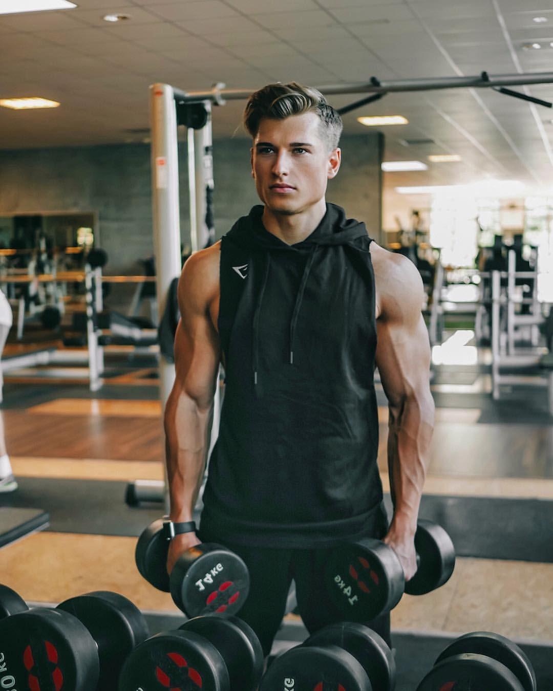 Alex Kukla Muscle Men Mens Fitness Haircuts For Men