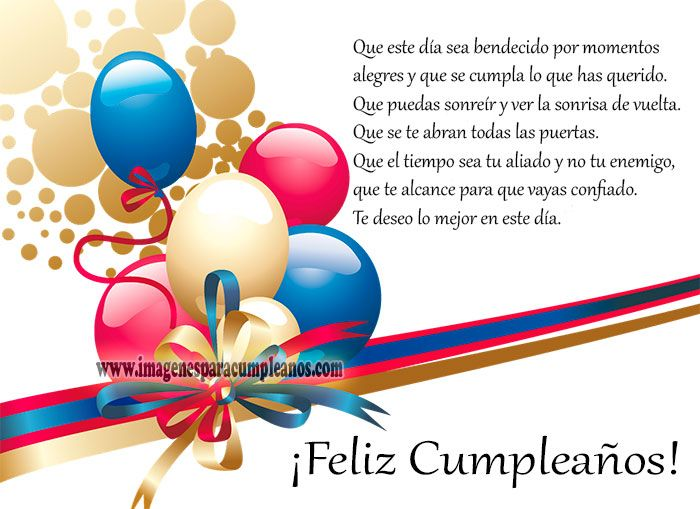 Imágenes y Tarjetas de Cumpleaños Cristianas Happy birthday
