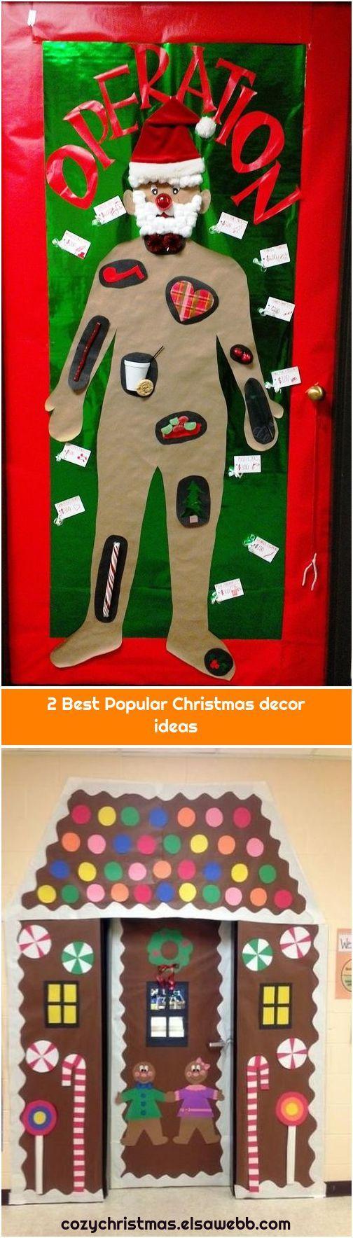 2 Best Popular Christmas decor ideas 1. Operation Christmas Door Operation Christmas Door We are wa
