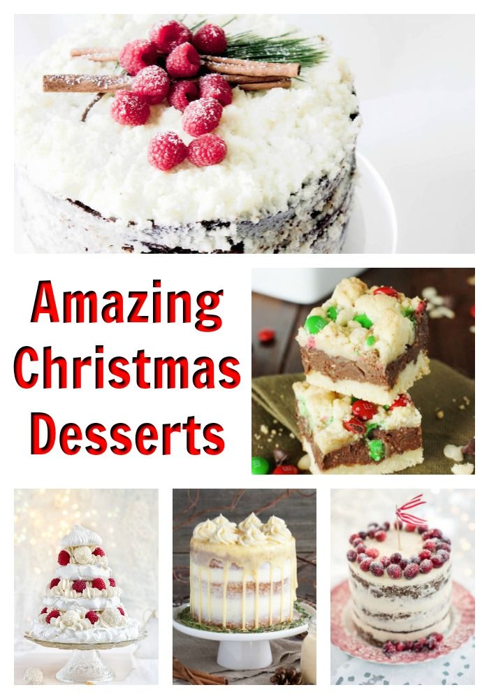 15 Christmas Desserts That Will Make Your Mouth Water All things