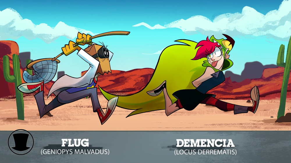 Demencia/Gallery | VILLAINOUS | Cartoon crossovers, Cartoon