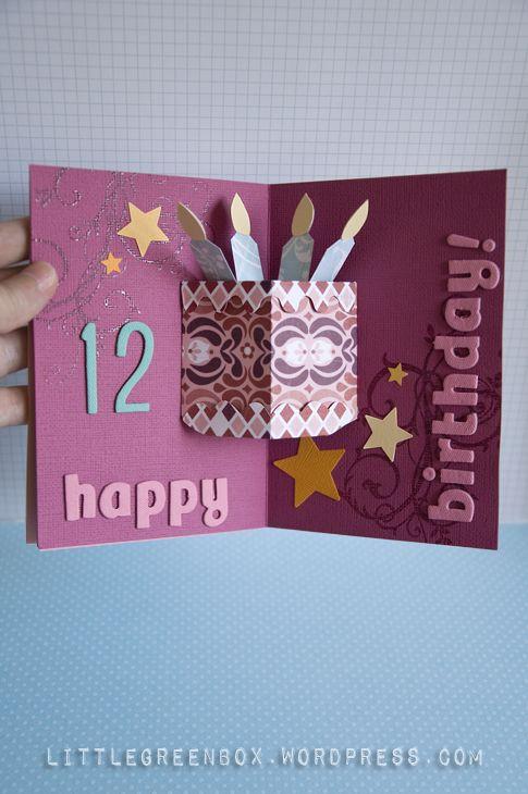 Nitzans Birthday Pop Up Card – Pop Up Cards for Birthday