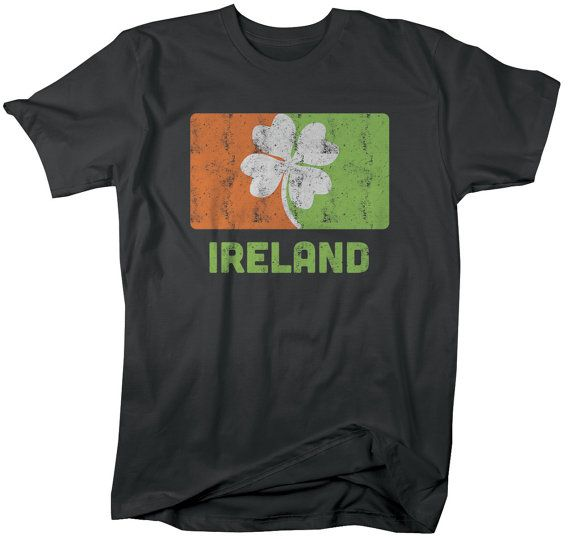 Ireland St. Patrick's Day T-Shirt Clover Irish by ShirtsBySarah