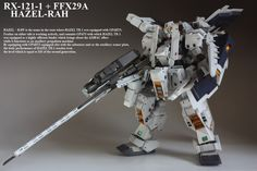 HGUC 1/144 RX-121-1 + FFX29A Hazel-Rah