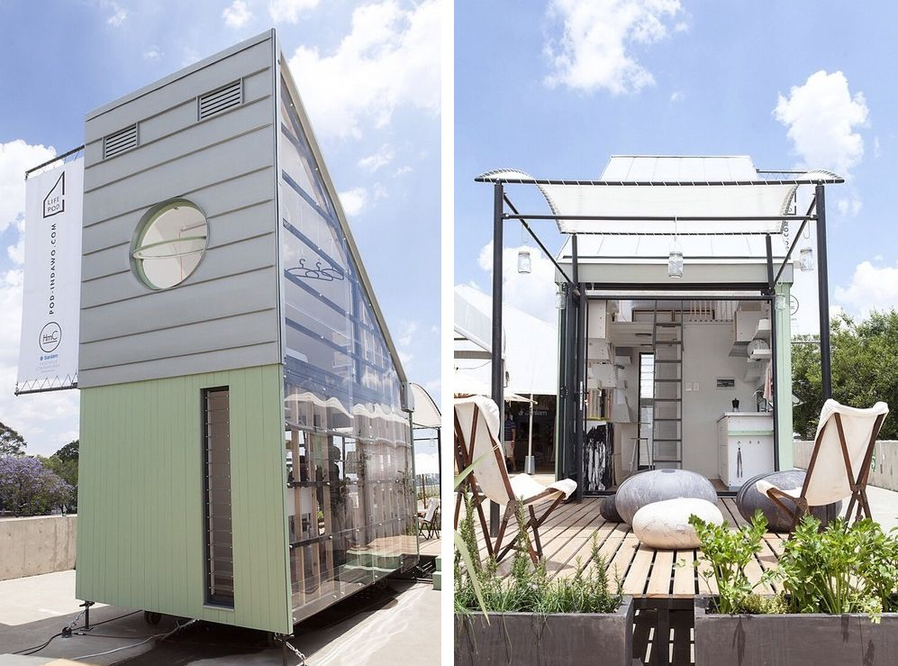 The Coolest Airiest New Tiny House Hails From South