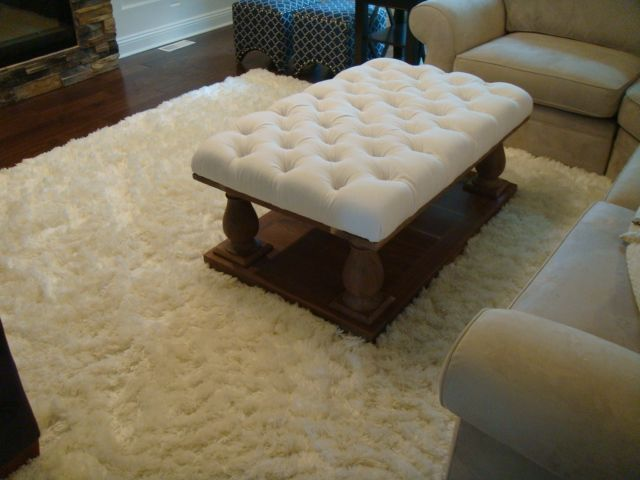 Wondrous Diamond Tufted Ottoman Tufted Ottoman Furniture Diy Ottoman Machost Co Dining Chair Design Ideas Machostcouk