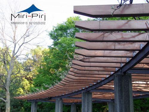 Metal Steel Pergola Tensile Pergolas Manufacturers In Delhi India
