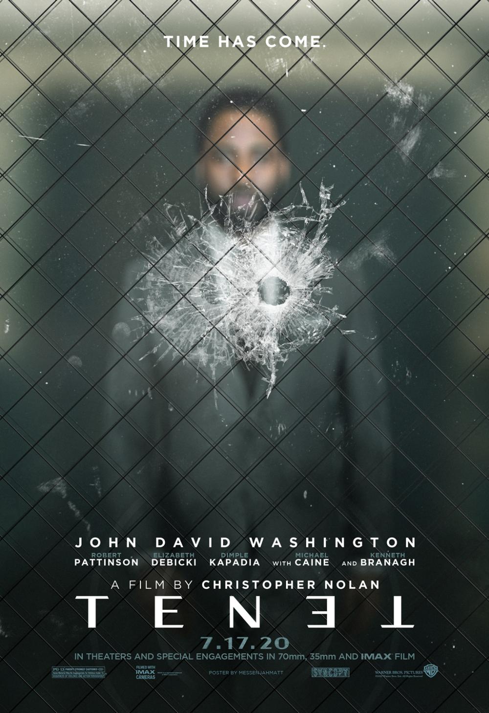 Tenet Poster Action Movie Poster James Bond Movie Posters Space Movie Posters