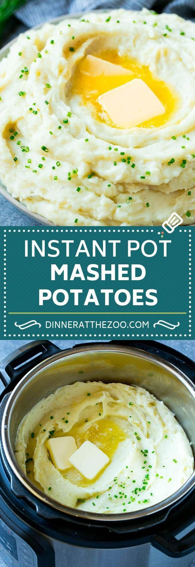 Instant Pot Mashed Potatoes Recipe | Pressure Cooker Mashed Potatoes | Easy Mash... -