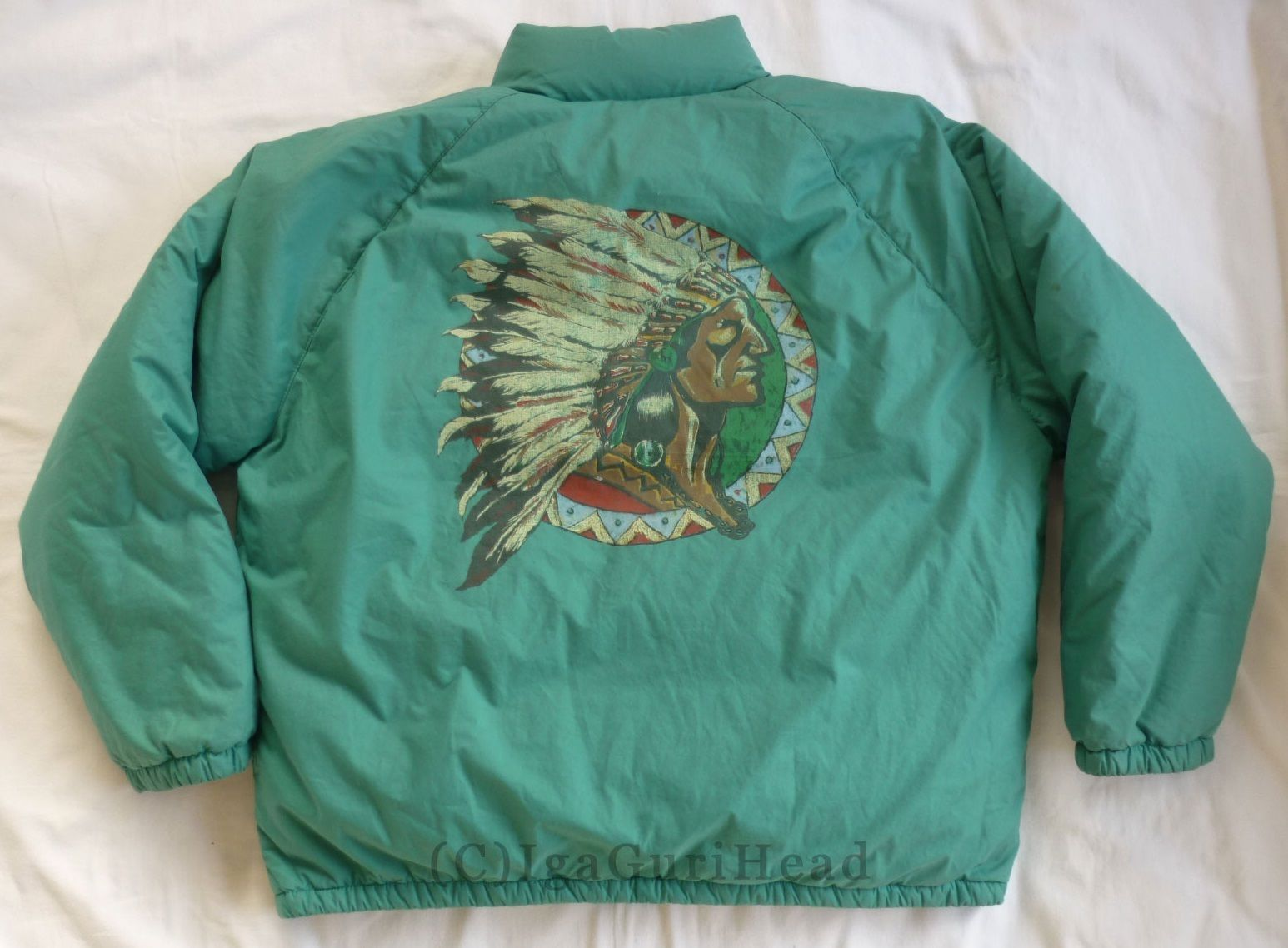 Head LifeAnd Polo Indian Vintage JacketrareLo Ralph Lauren fvYbg76y