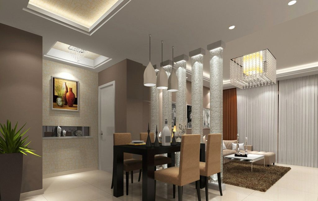 Pinrufus Dsouza On Partition And Division Ideas  Pinterest Extraordinary Dining Room Ceiling Lights Decorating Design