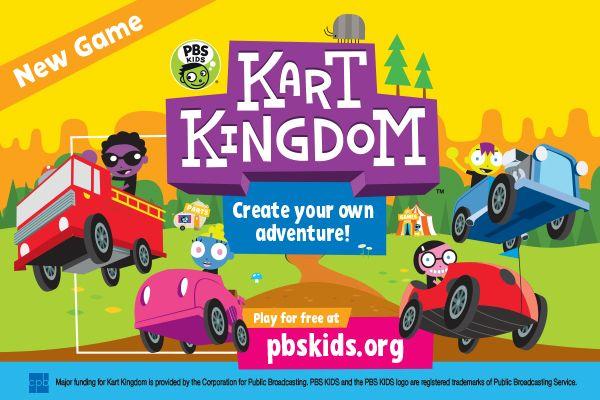 Kart Kingdom Live Game Event Wskg Pbs Kids Lab Games Lab Games