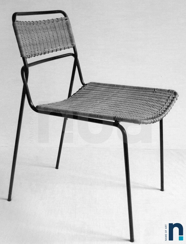 Panama Et Chaise Mathieu Matégot RotinMeuble 1953Sieges Mobilier ED2HWYe9I