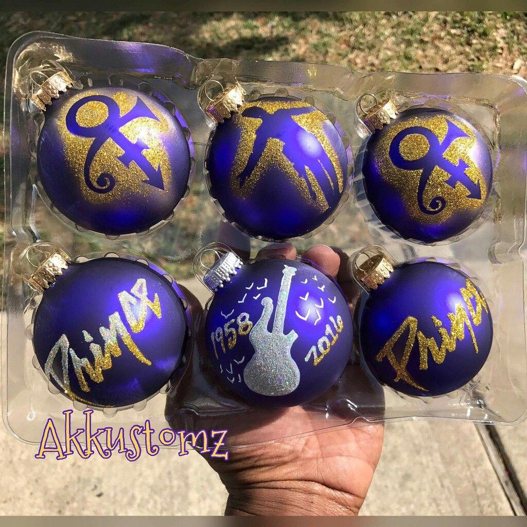 Prince Christmas Decorations.Prince Christmas Ornaments By Akkustomz I Prince O