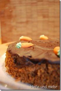 Möhrchen-Kuchen: runde Form, 18 cm | Kleine Familienkuchen | Möhren ...