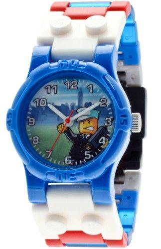 LEGO City Armbanduhr - Polizei  http://www.meinspielzeug24.de/lego-city-armbanduhr-polizei  #Junge #Uhren/Wecker
