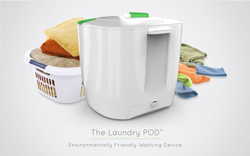 The Laundry Pod Its Like A Salad Spinner For Clothes How Cool