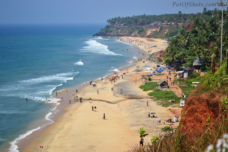 Varkala, a calm and quiet hamlet, lies on the outskirts of Thiruvananthapuram district. It has several places of tourist interests like a beautiful beach, a 2000 year old Vishnu temple and the ashramam- 'Sivagiri Mutt' a little distance from the beach. At the serene Varkala beach is a quiet sea resort rich in mineral water springs.http://www.keralatourntravel.com/kerala-beaches-varkala-tour.php