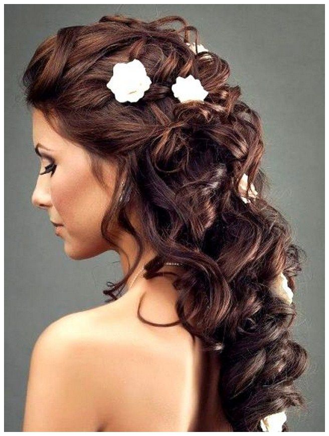 winter wedding hairstyles brunette - Google Search ...