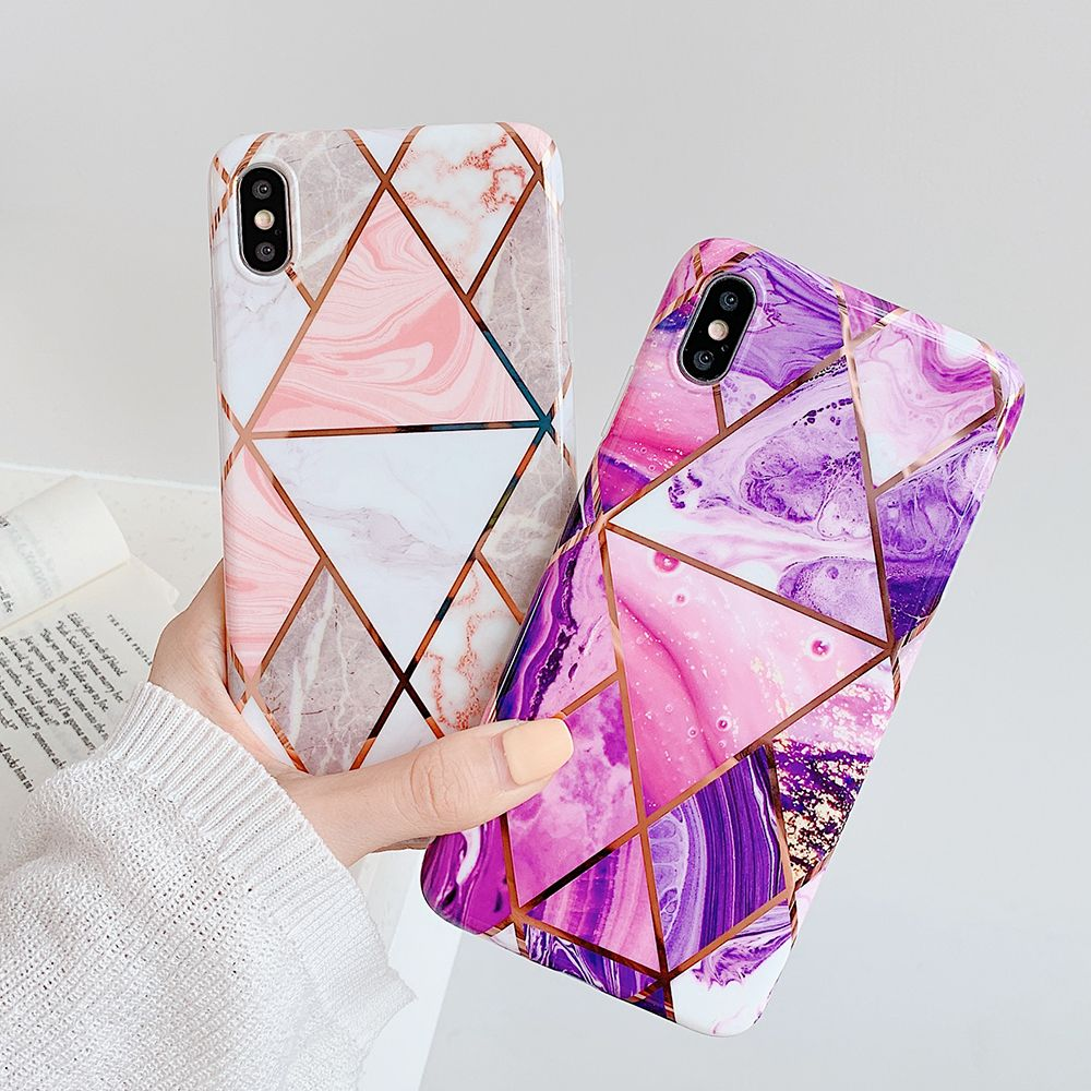 Geometric Marble Texture iPhone Cases Marble iphone case