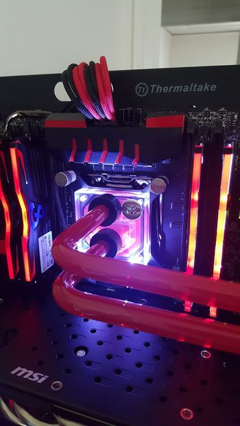 This Club Is For Owners And People Interested In The Thermaltake Core P5 Atx Wall Mount Open Computer Build Desktop Setup Custom Pc