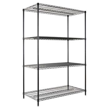 Costco Alera Industrial Wire Shelving 4 Shelves 48 Laundry