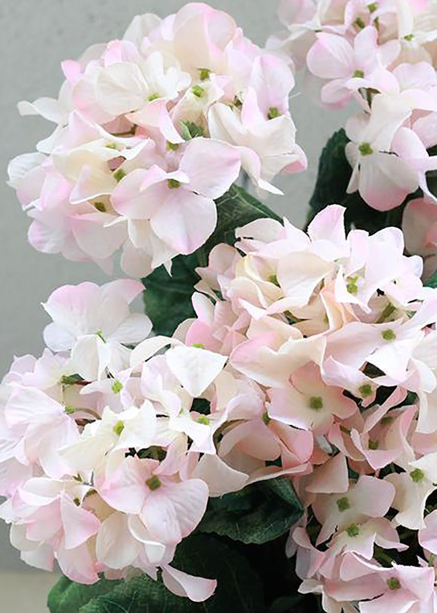 Light Pink Silk Hydrangea Bush Budget Wedding Afloral Com