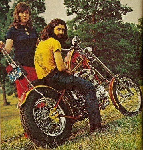 70s Biker.