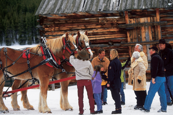 Hoffin It In The High Country Colorado Sleigh Rides Denver Life Mag With Images Keystone Resort Ski Trip Sleigh Ride