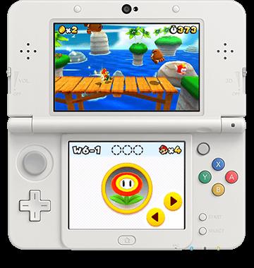 Super Mario 3d Land Edition New Nintendo 3ds Front View Nintendo 3ds Nintendo Games