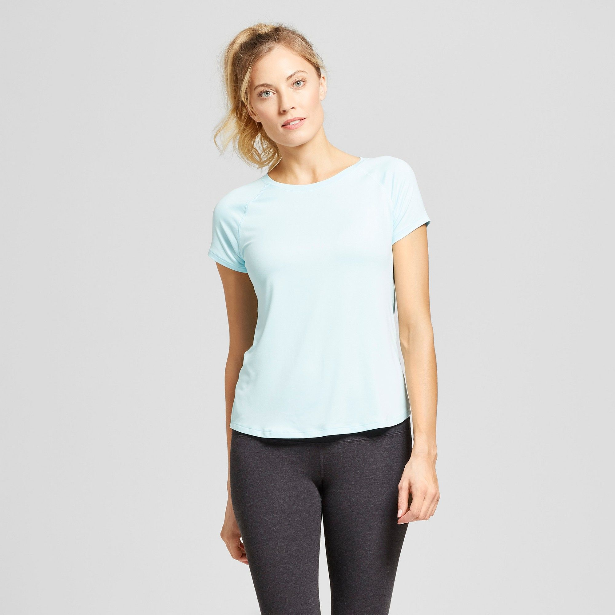 a53e0007ca2b Women's Soft Tech T-Shirt - C9 Champion Light Blue S | Products ...