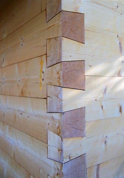 Massive Holzwand Passgenau Und Hochwertig Tesařina