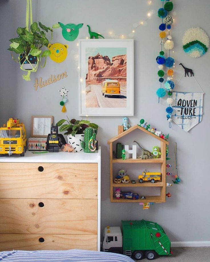 Boys Room Decor Kids Interior Follow Our Pinterest Page At Deuxpardeuxkids For More Kidswear Kids Kids Bedroom Decor Baby Room Decor Kids Playroom Decor