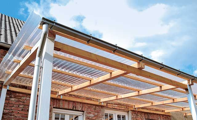 terrassenüberdachung selber bauen | terrassenüberdachung, Hause deko