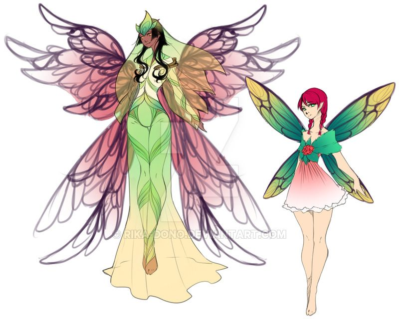 Pixie and Queen by rika-dono.deviantart.com on @DeviantArt