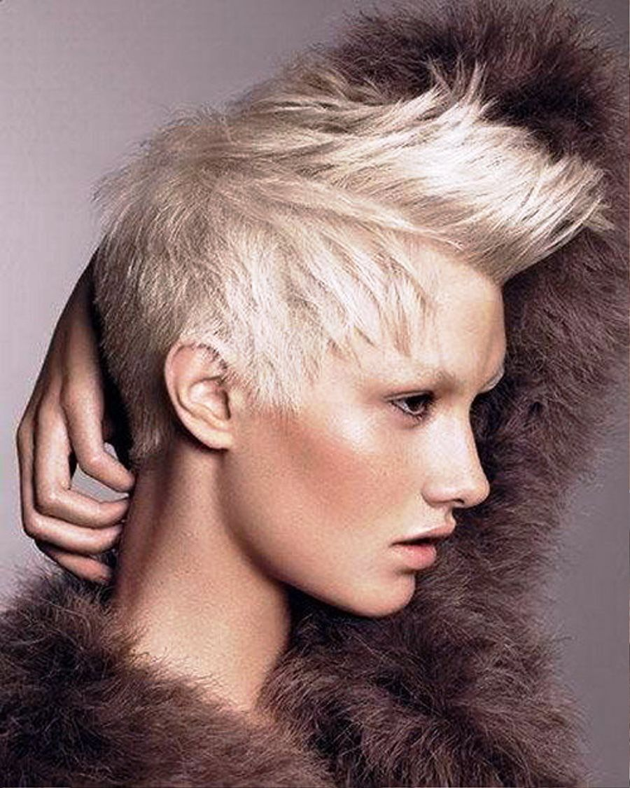 new punk hairstyles for short hair. slightly obsessed with
