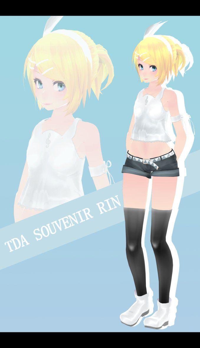 Tda Souvenir Kagamine Rin :-: Models Dl :-: by Ichigo-Crown