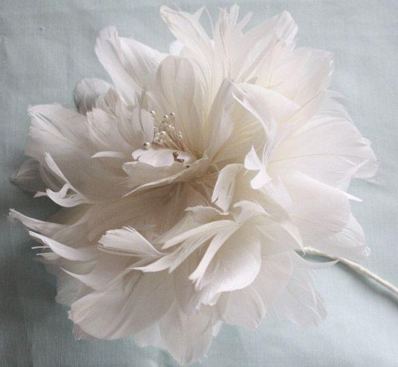 Fabric Flower Wedding Bouquet Tutorial: How To Assemble A Rustic Wedding Bouquet With Feather