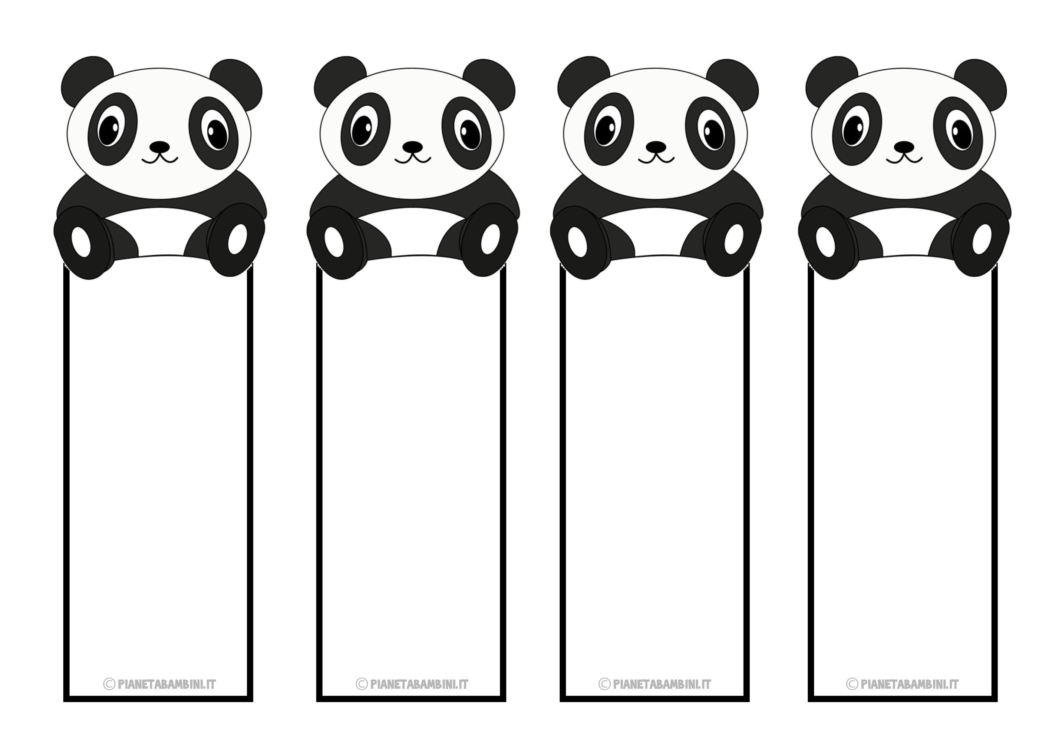 Segnalibri Panda Panda Bookmarks  Prce S Paprem