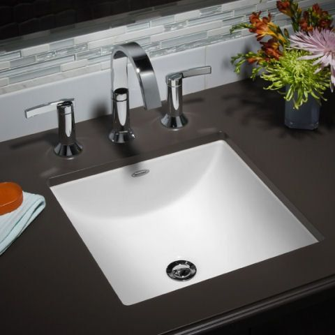 American Standard 7430 801 Contemporary Bathroom Sinks