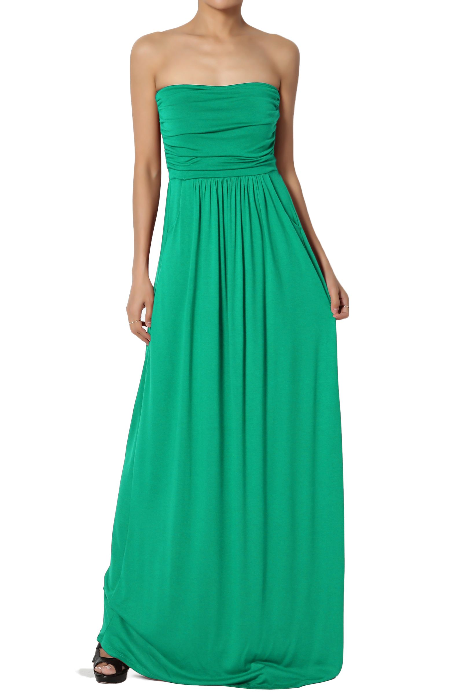 Themogan Themogan Women S Strapless Ruched Pocket Maxi Dress Tube Top Long Skirt Sundress Cover Up Walmart Com Maxi Dress Tube Dress Maxi Knit Dress [ 2400 x 1600 Pixel ]