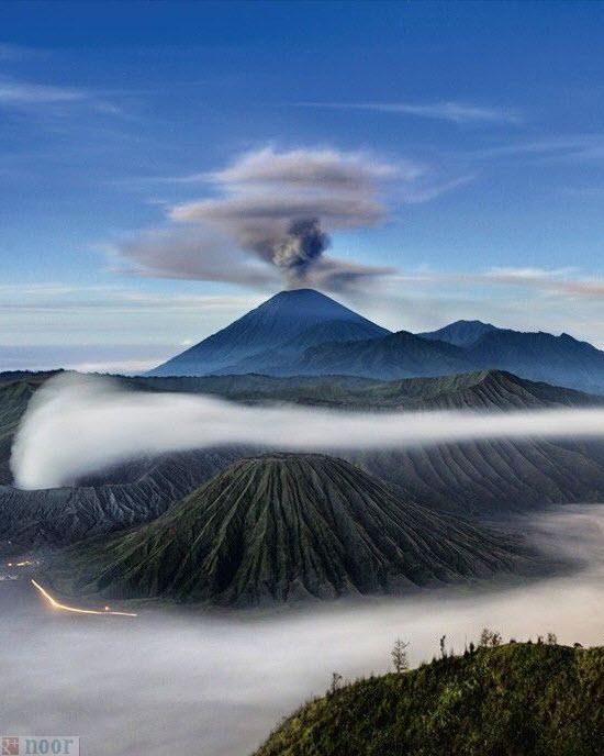 Wallpaper Pemandangan Gunung : wallpaper, pemandangan, gunung, Gambar-pemandangan-gunung-indonesia-gambar-gunung-bromo, Hawaii, Volcanoes, National, Park,, Volcano, Photos