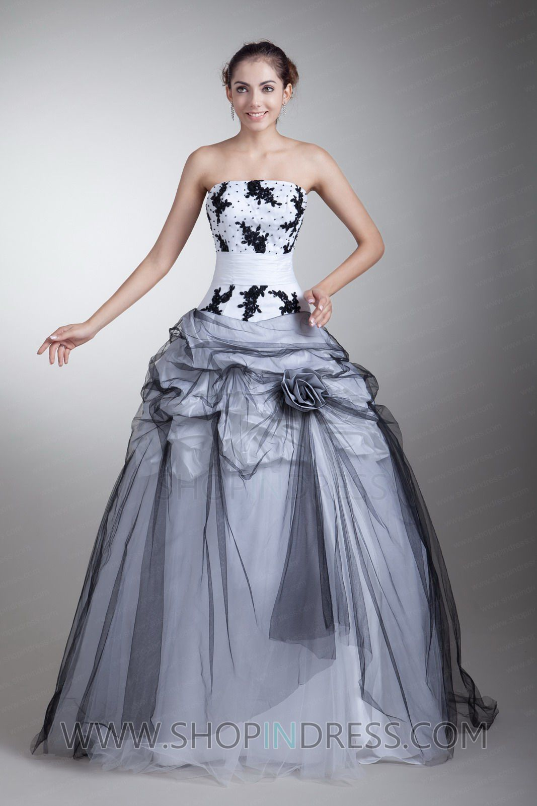 Quenceanera Dresses Lavender Silver and Black